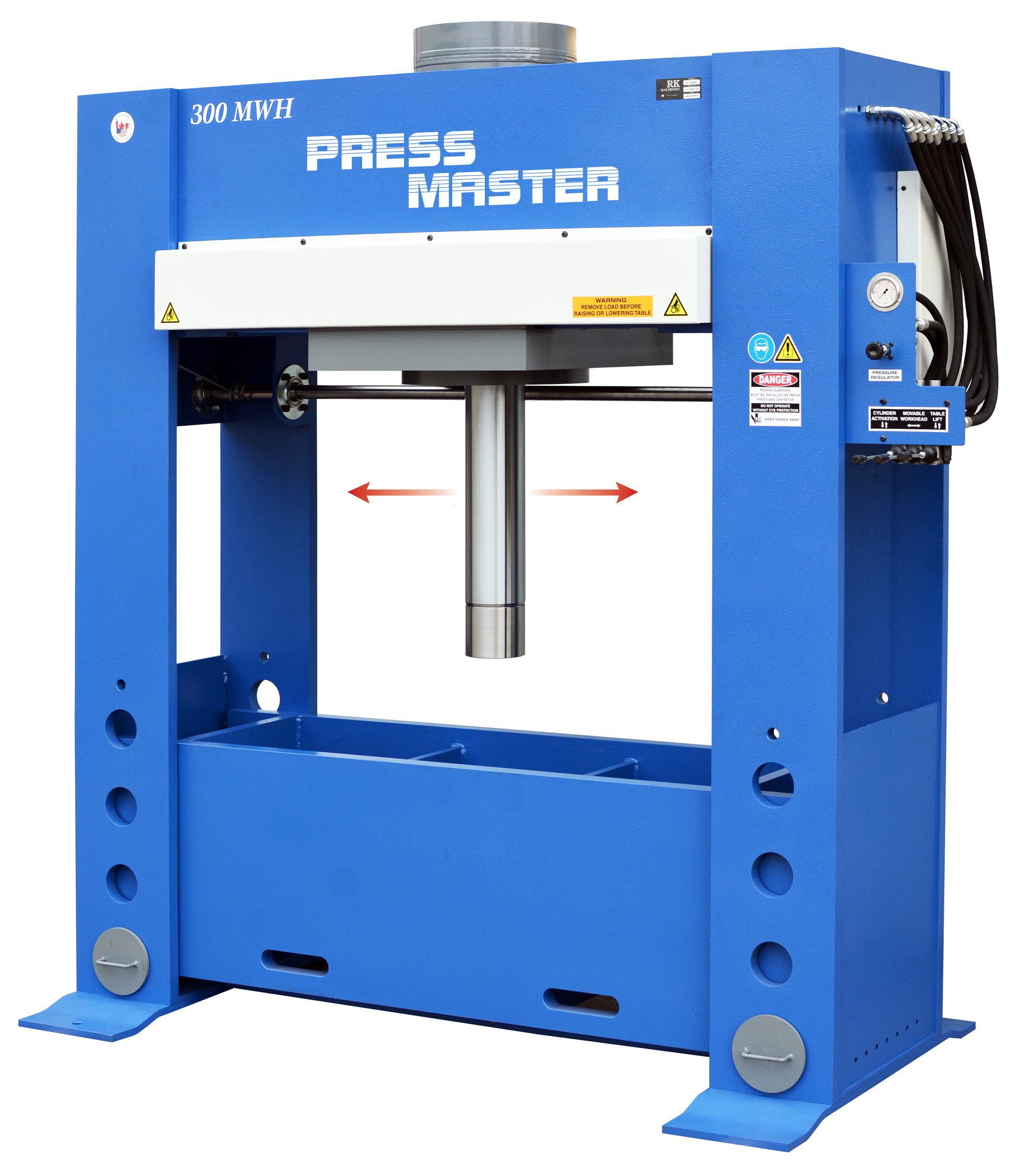 Press Master H Frame Hydraulic Press 350 ton